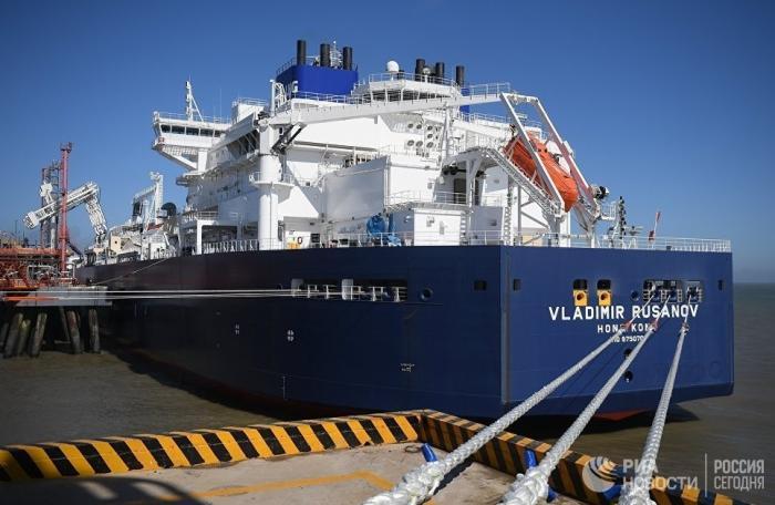 Россия увеличила экспорт сжиженного газа на63%