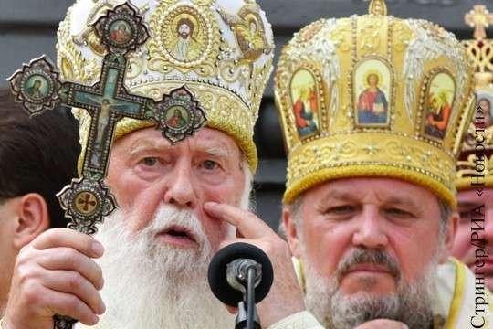 Главы раскольнических церквей Украины отказали идти под константинопольского авторитета
