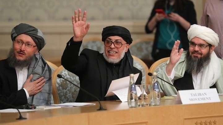 Талибы в Москве требуют ухода пиндосов из Афганистана