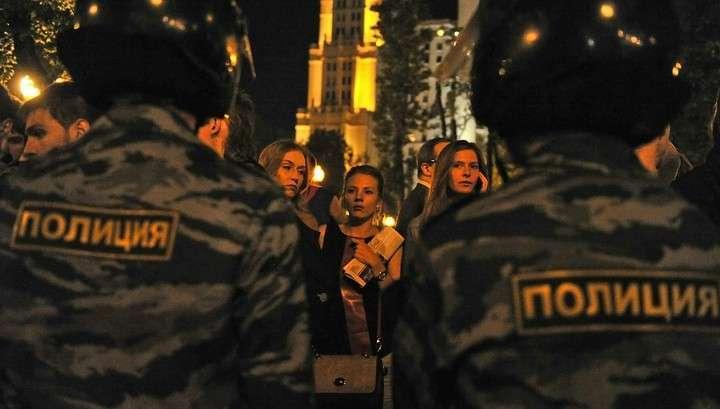 В России запрещены ночные митинги