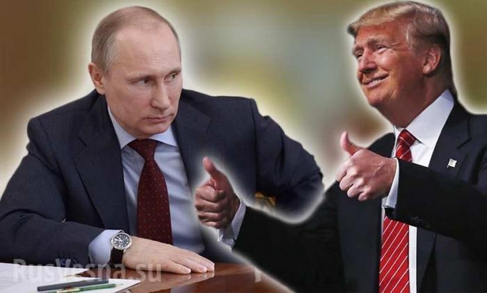 Путин и Трамп встретились в Париже, обменявшись рукопожатиями