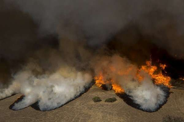 Пожар в Калифорнии – самый разрушительный в истории штата