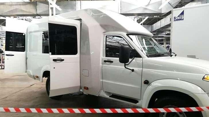 УАЗ показал прототип автодома Профи