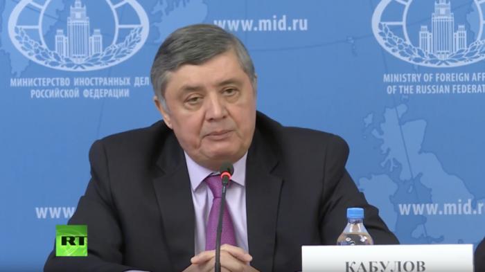Спецпредставитель президента РФ о консультациях по Афганистану