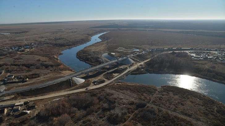 ВСаратовской области открыт мост через реку Камелик