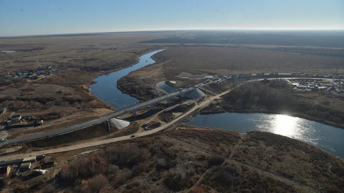 ВСаратовской области открыт новый автомобильный мост через реку Камелик