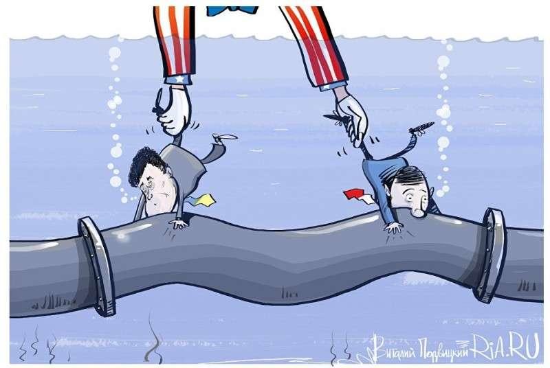 Украина и США договорились совместно препятствовать строительству «Северного потока – 2»