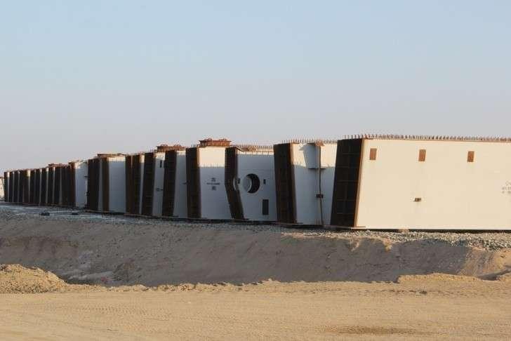 Началась надвижка пролётного строения намосту через Амур