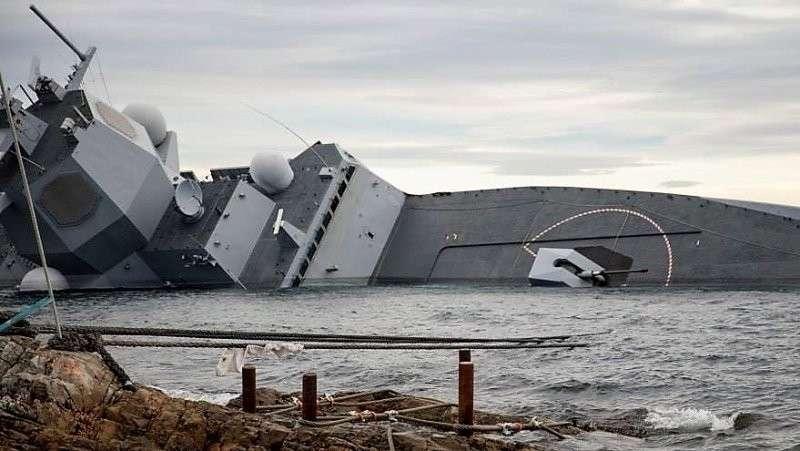 Фрегат НАТО протаранил танкер: чем больше сведений – тем больше вопросов