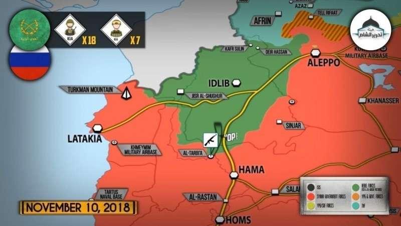 Сирии. На границе Идлиба неспокойно, спутниковые снимки базы Хмеймим