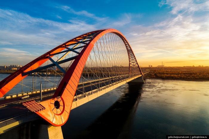 Красавец Новосибирск свысоты: самый большой город Сибири