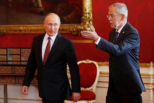 Австрия раскусила британскую игру против России