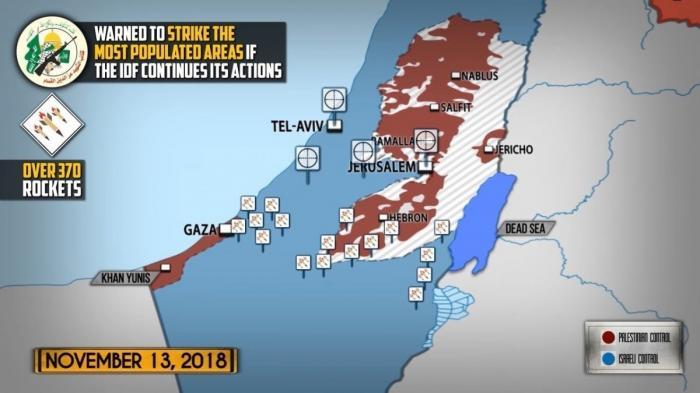 Сектор Газа. Рейд еврейских террористов спровоцировал боестолкновения. Подробности