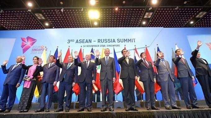 Выступление напленарном заседании саммита Россия– Ассоциация государств Юго-Восточной Азии
