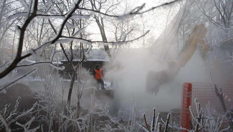 Аварии теплосети в Киеве: «В дыму светится религиозная самостийность»