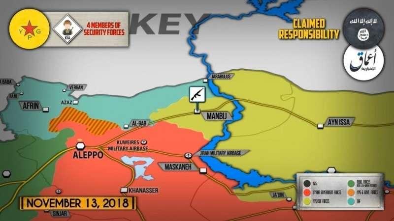 Сирия. Турки и курды схватились в диверсионной войне
