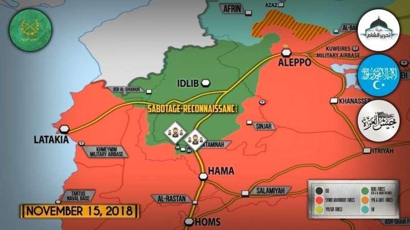 Сирия. Наёмники США в Идлибе нарываются на уничтожение