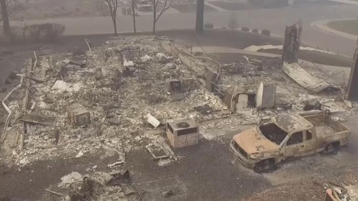 Пожар в Калифорнии: число жертв достигло 66 человек более 600 пропало без вести