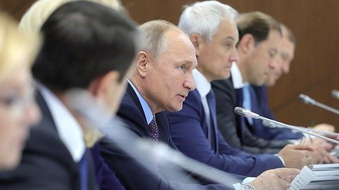 Владимир Путин провёл совещание поповышению эффективности лекарственного обеспечения