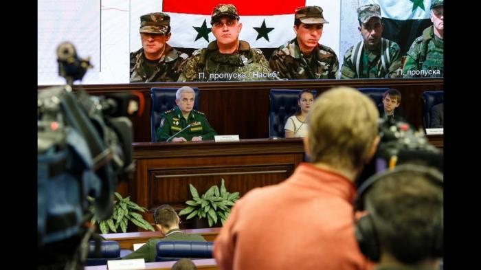 Совместное заседание координационных штабов России и Сирии 16.11.2018