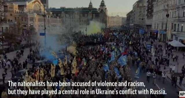 Американское информагентство Associated Press внезапно обнаружило на Украине нацистов