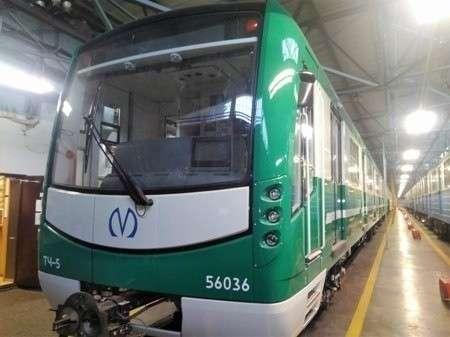 Метрополитен Петербурга получил 18-й состав «НеВа»