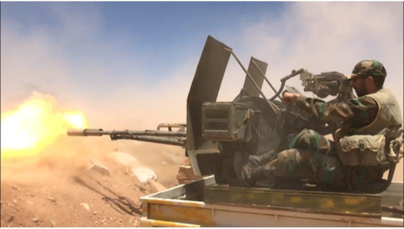 Сирийская армия взяла под контроль последний оплот террористов ИГ на юге Сирии