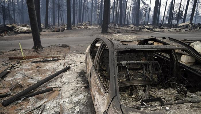 Пожары в Калифорнии. Число жертв возросло до 1276 человек