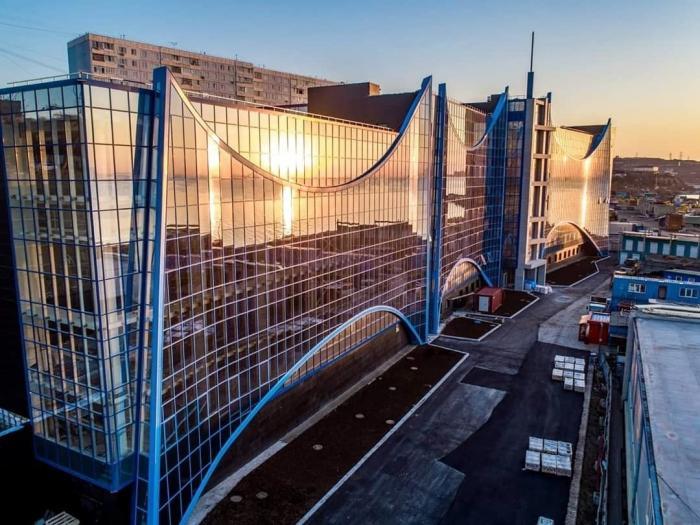Владивосток. Учебно-тренировочный комплекс для подготовки арктических судоводителей