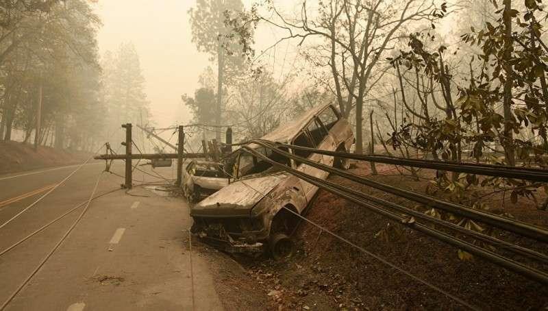 Пожары в Калифорнии нанесли огненный удар по большой российской иллюзии