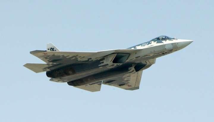 Министерство обороны показало, как работают в Сирии российские Су-57