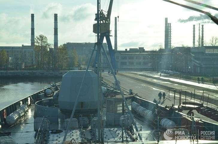 Репортаж сборта новейшего фрегата проекта 22350 «Адмирал Касатонов»