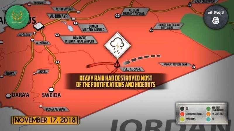 Сирия. Юг страны зачищен от ИГИЛ