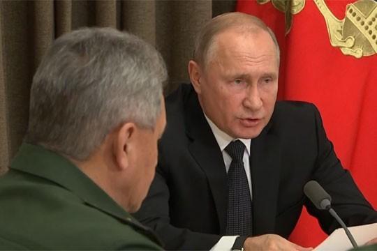 Владимир Путин перечислил приоритетные задачи развития Вооруженных сил России