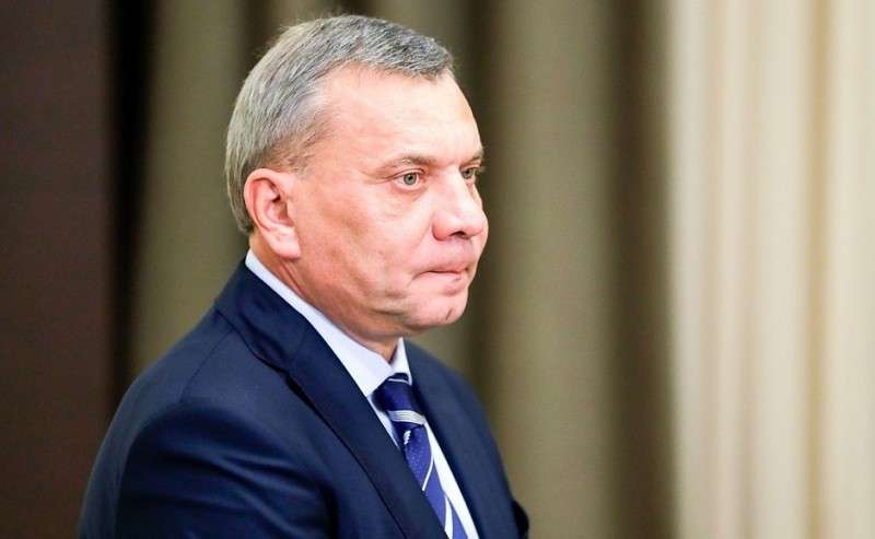 Заместитель Председателя Правительства Юрий Борисов перед началом совещания сруководством Министерства обороны ипредприятий оборонно-промышленного комплекса.