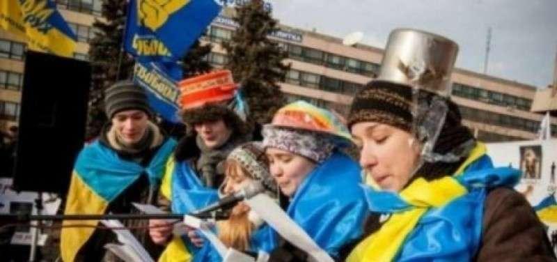 На Украине до сих пор продолжается еврейский Майдан