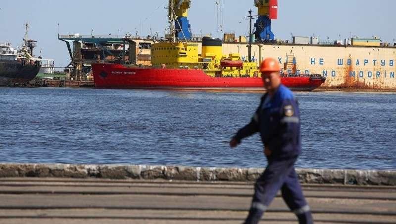Захваченный Украиной сухогруз покинул страну
