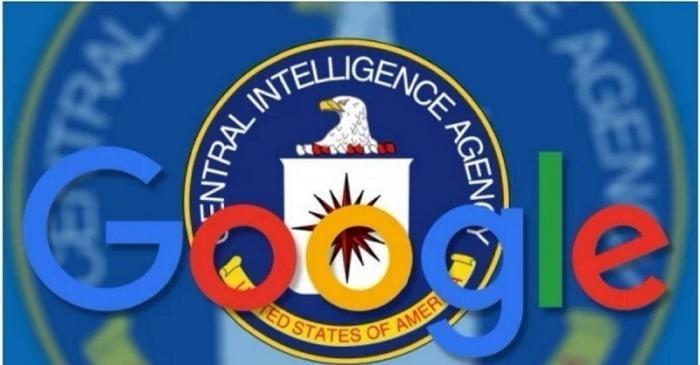 Гугл шпионит в пользу разведки США