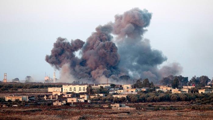 Сирия. США нанесли удар бомбами с запрещённым белым фосфором