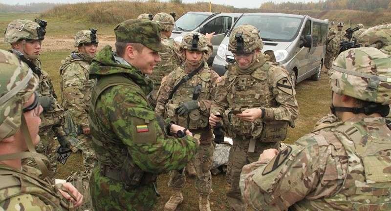 Литва превращается в поле вероятного военного конфликта России и США