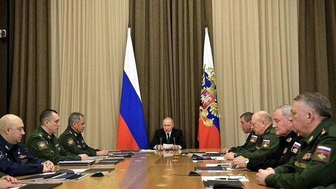 Владимир Путин провёл совещание на тему диверсификации оборонно-промышленного комплекса