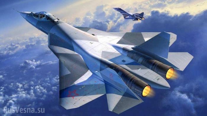 Четвёрка Су-57 впервые маневрирует вместе
