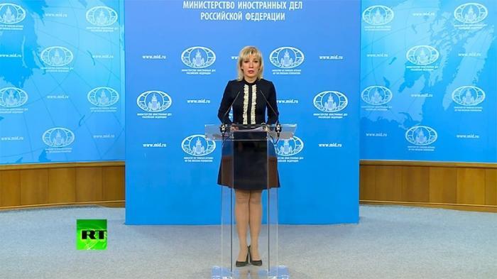Захарова – о Марии Бутиной: жертва русофобии, набравшей невиданные обороты в Вашингтоне
