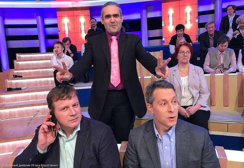 О политической трескотне и майданной дребедени на центральных телеканалах России