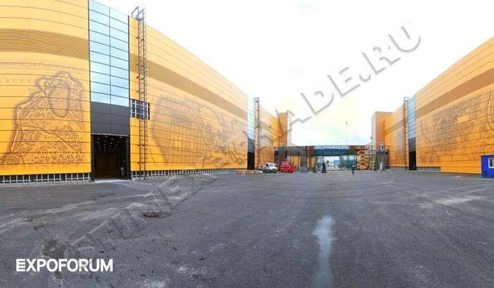 Один изкрупнейших конгресс-центров вЕвропе «Экспофорум» открылся вПетербурге