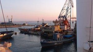 Операция поподъему крейсера Очаков в бухте Донузлав завершена