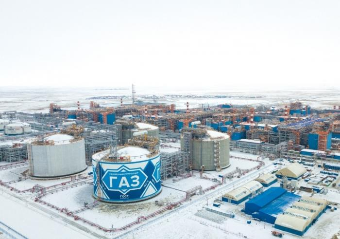 Ямал СПГ произвел первую партию газа натретьей линии завода