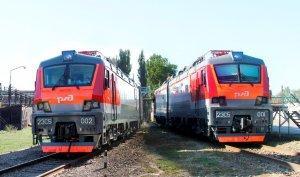 Вдепо Вихоревка ВСЖД поступили первые электровозы нового поколения «Скиф»