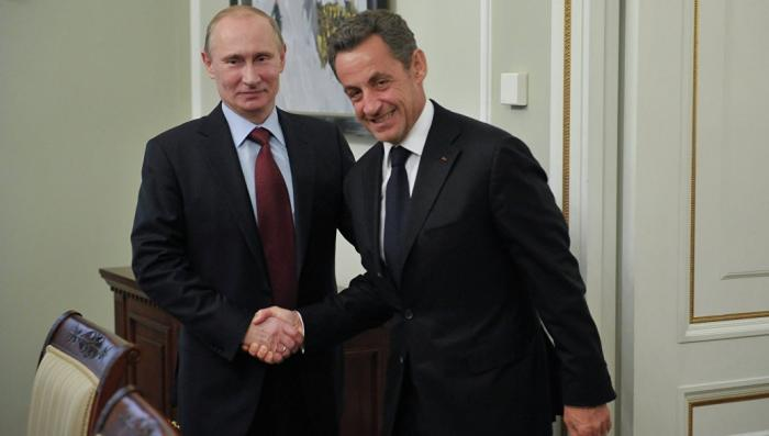 Николя Саркози приехал в Москву и признался в дружеских чувствах к Владимиру Путину