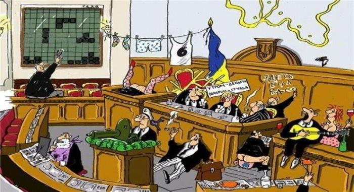 Верховная Рада Украины: что делают депутаты на заседаниях